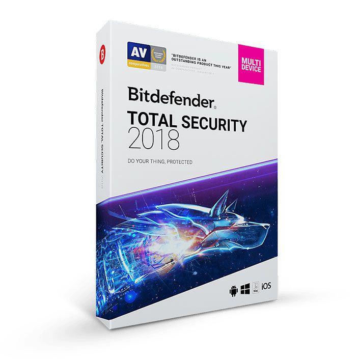 خرید لایسنس اورجینال آنتی ویروس بیت دیفندر توتال سیکوریتی